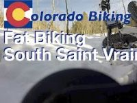 South Saint Vrain in Winter: Epic Fat Bike Descent