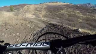 Mountain Biking Vertigo Downhill Flow Trail in...