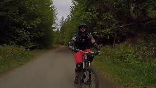 Vapor MTB Trail Kelowna BC - Following Laura -...