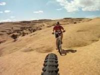 Slickrock Mountain Biking Moab Utah - March...