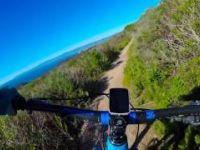 Mountainbiking Hazard Peak Trail-4K GoPro...