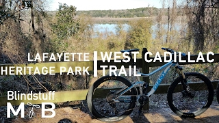 Mountain Biking the West Cadillac Trail in...