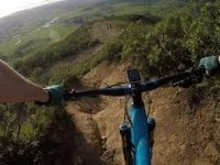Mountainbiking Baby Rock Garden 4K GoPro...