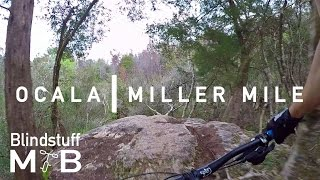 Mountain Biking Miller Mile at Ocala, FL