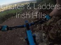 Mountainbiking Chutes & Ladders-4K GoPro...