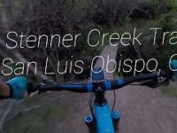 Mountainbiking Stenner Creek Trail-4K GoPro...