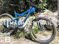2017 Pivot Mach 429 Trail 27.5+ Test Ride...