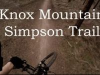 Mountain Biking Simpson Trail (Intermediate)...