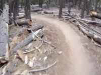 Mountain Biking Sidewinder to Corral Trail...