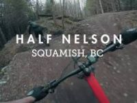 Mountain Biking Half Nelson flow trail, the...
