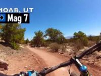 1 MINUTE OF MAG7 SHREDDING - MOAB, UT.  THE...
