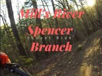 Mountain biking Pisgah Mills River Spencer...