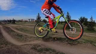 Sherwood Park Bike Skills: Dirt Jumping, Wall...