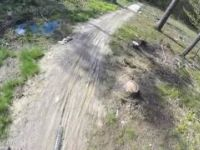 Zjazd Singlem Suliwoods Kross Trail Sulistrowiczki