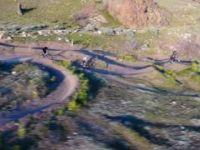 Ogden Bike Park Sample via Drone