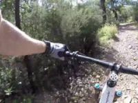Mountain Biking Forrest Hill Connector Trail,...