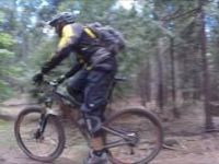 Mountain Biking: Nevada City,  CA (Hoot Trail...