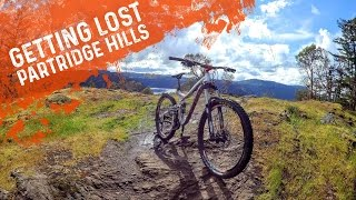 LOST MTB'ing on Partridge Hills - The OZone