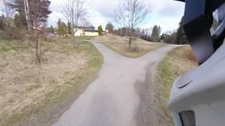 29 april 2017 Sykkel veien ved Grødtvet og...