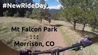 NRD: Mountain Biking Mt Falcon Morrison, CO
