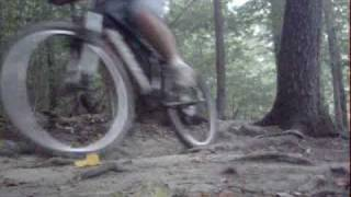 West Branch mountain bike trails 2009