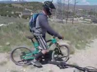 Mountain Biking the 220 Line in Eagle...