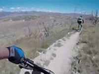 Mountain Biking Treadstone (West) with a Drone...