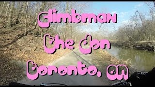 Mountain Biking: Climbmax, The Don, Toronto