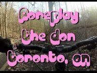 Mountain Biking: Foreplay, The Don, Toronto