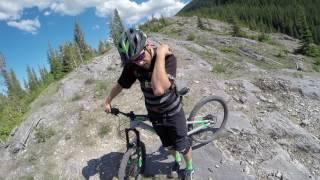 Riding the Razors Edge   Canmore, Alberta  ...