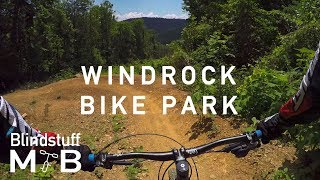 Mountain Biking Windrock Bike Park in Oliver...