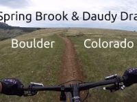 Mountain Biking Spring Brook / Doudy Draw in...