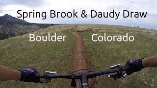 Mountain Biking Spring Brook / Doudy Draw in...