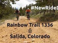 Mountain Biking Rainbow Trail Salida Colorado...