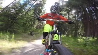 Banff Mountain Biking: Al-Rae Trail in Banff...