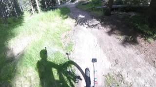 Banff Mountain Biking: Al_rae Trail in Banff...
