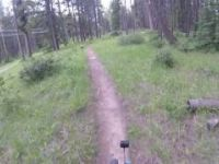 Banff Mountain Biking: The Spine trail, June...