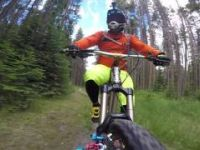 Banff Mountain Biking: Banff Ave.-Alternate...