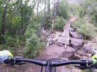 The Flume Mountain Bike Trail, Dry Fork,...