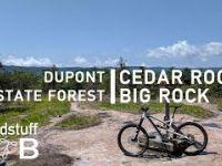 Mountain Biking Cedar Rock to Big Rock in...
