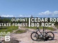 Mountain Biking Cedar Rock to Big Rock in...