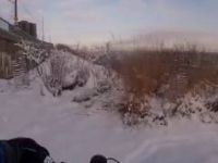 MTB Snow Pittsburgh Commute Down Mt. ...