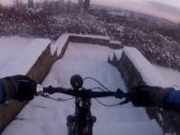 Pittsburgh MTB Snow Commute Grandview to...