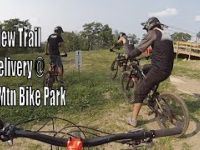 New Trail at West Mountain Bike Park - Delivery