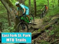 East Fork State Park Mountain Bike Trails...