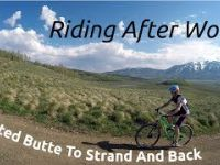Mountain Biking Strand Hill From Crested Butte...