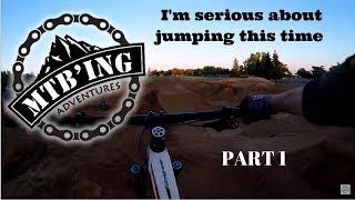 New jump line, Elk Grove Bike Park