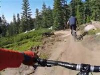 Kingsbury Stinger Trail - Upper Part - New MTB...