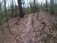Quail Hollow mtb trail helmet cam