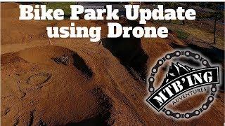 Bike park update (Elk Grove, CA) Drone footage